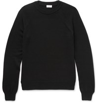 Saint Laurent Virgin Wool Sweater Black