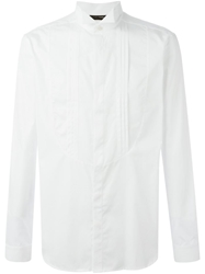 Tonello Wing Tip Collar Shirt White