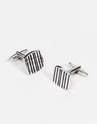 French Connection Cufflinks Silver
