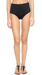 Kate Spade Georgica Beach High Waisted Bottoms Black