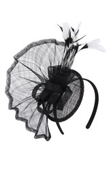 Nordstrom Pleated Fan Fascinator Headband