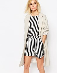 Selected Tanja Clean Coat Silver Cloud Grey