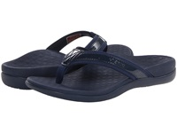 Vionic With Orthaheel Technology Tide Ii Navy Women's Sandals