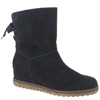 Gabor Zoot Wedge Heeled Ankle Boots Pacific