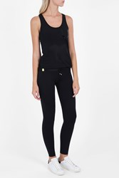Monreal London Women S Mesh Tank Boutique1 Black