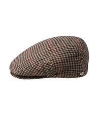 Bailey Hats Lord Tweed Flat Cap Black