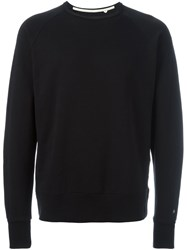 Rag And Bone Classic Sweatshirt Black