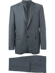 Ermenegildo Zegna Two Piece Suit Blue