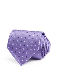 The Men's Store At Bloomingdale's Mini Quarterflower Neat Classic Tie Purple