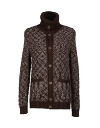 Missoni Knitwear Cardigans Men Dark Brown