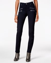 Styleandco. Style Co. Petite Zip Pocket Skinny Jeans Only At Macy's Rinse