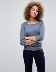Only Jess 3 4 Sleeve Tee Grisaille Grey