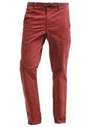 Esprit Flow Chinos Dark Red