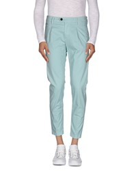 Camouflage Ar And J. Trousers Casual Trousers Men Turquoise