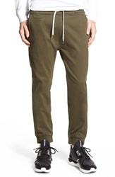Men's Imperial Motion 'Denny' Woven Jogger Pants Olive