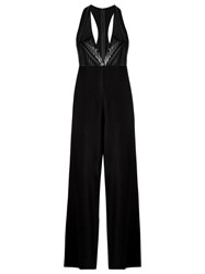 Adriana Degreas Sleeveless Jumpsuit Black