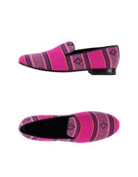 C.B. Made In Italy Moccasins Fuchsia