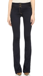 Veronica Beard High Waisted Flare Jeans Indigo