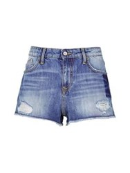 Vivienne Westwood Anglomania Kuester Short Zip Shorts Distressed Denim
