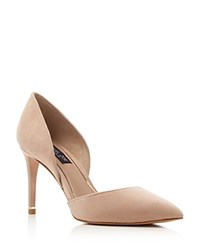 Rachel Zoe Kilee D'orsay High Heel Pointed Toe Pumps Beige