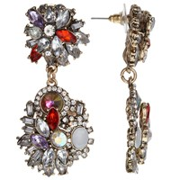 John Lewis Statement Drop Earrings Multi