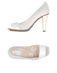 Jil Sander Footwear Courts Women White