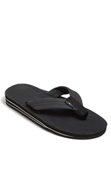 Rainbow '302Alts' Flip Flop Men Black