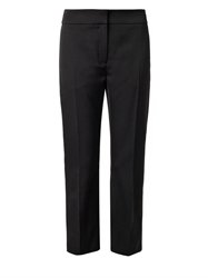 Alexander Mcqueen Cropped Tailored Wool Trousers