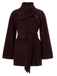 Phase Eight Celeste Cape Coat Blueberry
