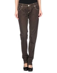 Pinko Denim Pants Dark Brown
