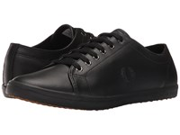 Fred Perry Kingston Leather Black Black Men's Lace Up Casual Shoes