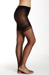 Shimera Everyday Sheer Midthigh Shaper Black