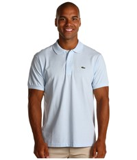 Lacoste L1212 Classic Pique Polo Shirt Rill Light Blue Men's Short Sleeve Knit