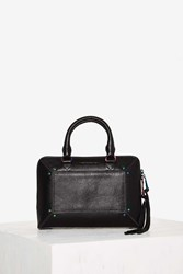 Aimee Kestenberg Tara Leather Crossbody Bag Black