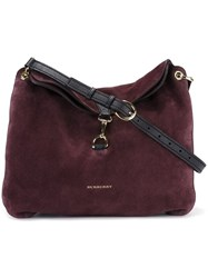 Burberry 'Cornwall' Shoulder Bag Red