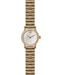 Gomelsky By Shinola Agnes Varis 20Mm Bracelet Watch With Diamonds White Golden