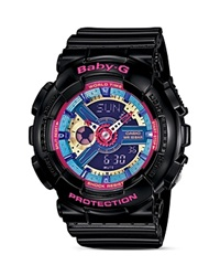 Baby G Color Add Watch 46.3Mm Black Pink