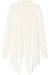 Antonio Berardi Open Back Crepe De Chine Blouse