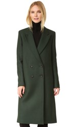 Paul Smith Long Coat Green