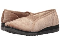 Foamtreads Quartz Champagne Women's Slippers Gold