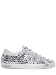 Golden Goose 20Mm Super Star Crystal Sneakers