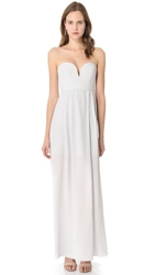 Zimmermann Strapless Maxi Dress Mist