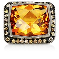 Sara Weinstock Women's Mixed Gemstone Cocktail Ring No Color