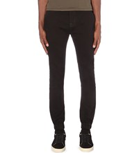 7 For All Mankind The Jogger Slim Fit Skinny Jeans Deep Blue