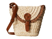 San Diego Hat Company Bsb1360 Woven Straw Crossbody Bag W Adjustable Strap Natural Cross Body Handbags Beige