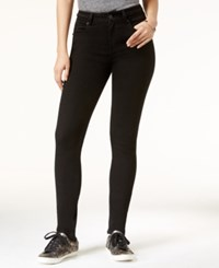 Rampage Juniors' Braided High Rise Skinny Jeans Black