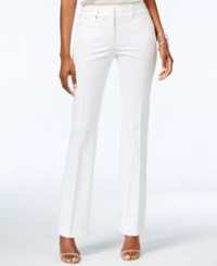 Alfani Petite Flare Leg Pants Only At Macy's Bright White