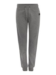 True Religion Relaxed Fit Fleece Lined Tracksuit Bottoms Grey