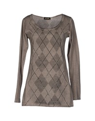 Romeo Y Julieta Topwear T Shirts Women Grey