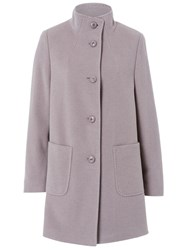 Basler Wool Coat With Cashmere Grey
